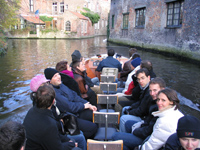 MBA FSI students on excursion to Bruges